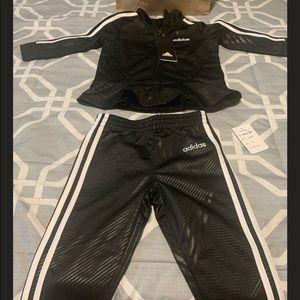 Adidas Girls Jacket and Jogger Pants Set